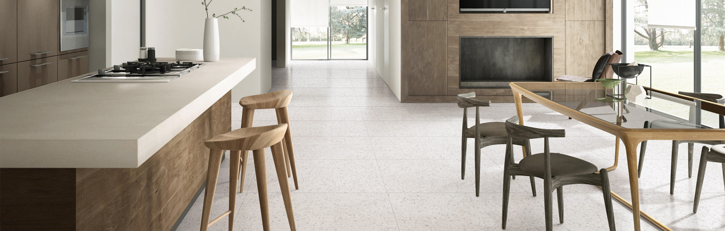 Terrazzo Traditional Bianco | AT1